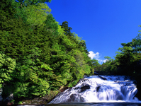 Ry笛zu falls Stock photo [3906] Tochigi