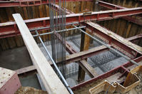 Construction site Stock photo [4519] Steel