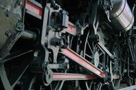 Locomotive wheel Stock photo [4746] Locomotive