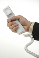 Telephone handset Stock photo [4975] Telephone