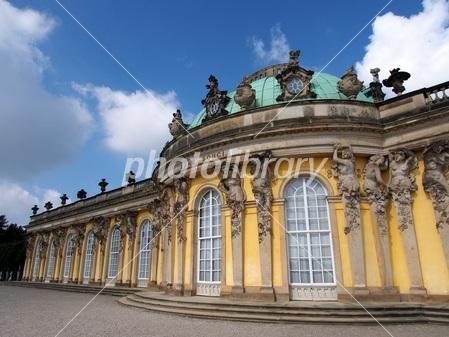 World Heritage Germany Potsdam Sanssouci palace Photo