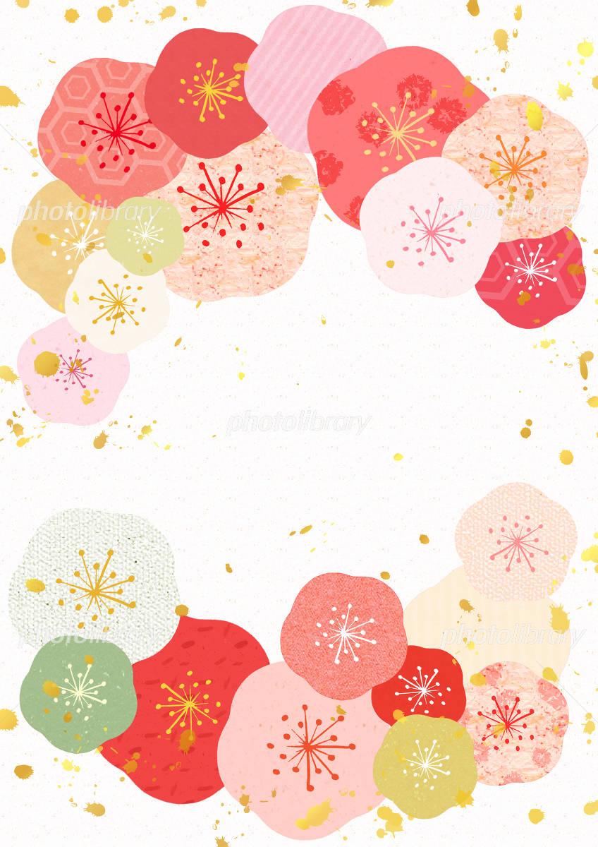 梅の飾り枠 イラスト素材 [ 2740014 ] - フォトライブラリー photolibrary