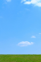 Grassland and blue sky Stock photo [2732703] Prairie