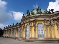 World Heritage Germany Potsdam Sanssouci palace Stock photo [2737101] Sanssouci