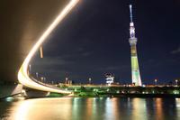 Tokyo Sky Tree Akirahana Olympic bid Stock photo [2737957] Bridge