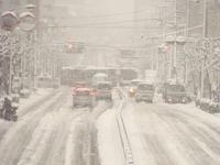 Ring seven of havoc in heavy snow Stock photo [2738656] Heavy