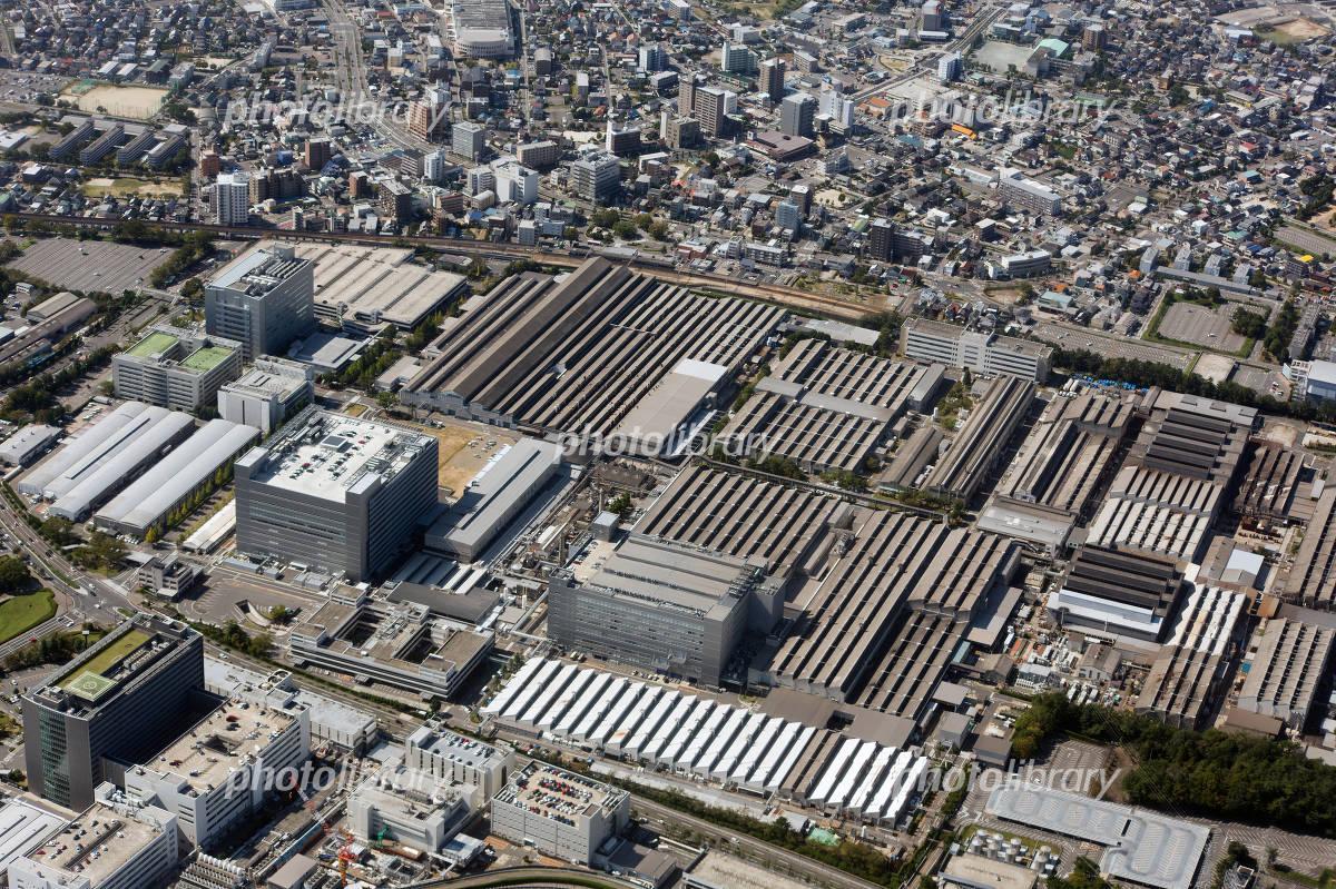 トヨタ自動車本社工場を空撮 写真素材 [ 2818091 ] - フォト ...