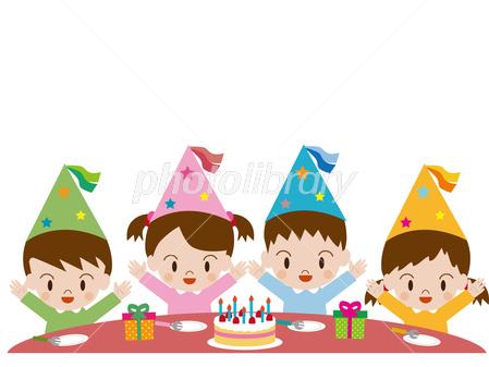 子供 誕生日 パーティー イラスト素材 2818116 フォトライブラリー