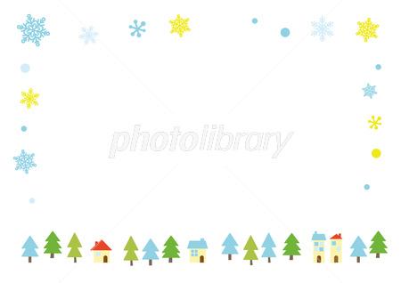 クリスマス フレーム イラスト素材 2821487 フォトライブラリー