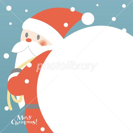 サンタクロースと大きな袋 イラスト素材 フォトライブラリー Photolibrary