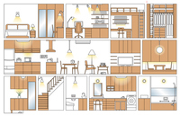 Floor plan of the house [2815909] House