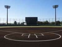 Pre-game baseball field Stock photo [2816383] Grand