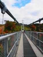 Kokonoe Yume-dai suspension bridge Stock photo [2817180] Kokonoe