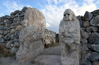 Hatto~ushashu ruins - Sphinx Gate Stock photo [2817828] Turkey