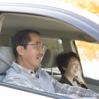 Senior couple to the drive Stock photo [2818749] Person
