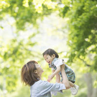 Mothers cradle a baby Stock photo [2818873] Person
