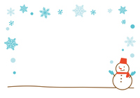 Snowman background [2821509] Snowman