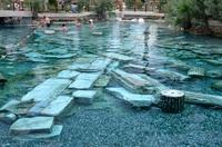Hierapolis ruins hot springs Stock photo [2826402] Turkey