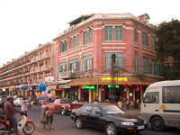 Phnom Penh dusk of Shisowatto Street Stock photo [2902114] Asia