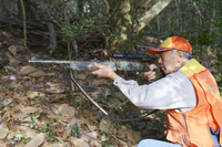 Men set up a hunting rifle Stock photo [2902780] Hunting