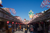 New Year decorations of Asakusa Nakamise Stock photo [2904798] Sensoji