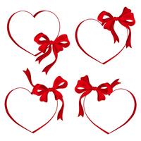 Heart and ribbon [2905475] Hart