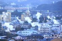 Yukemuri of Beppu Onsen Kannawa Stock photo [2906117] Kannawa