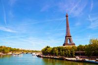 Eiffel Tower from France Paris Pont de Bir-Hakeim Stock photo [2908345] France
