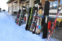 Ski area Stock photo [2909854] Skiing