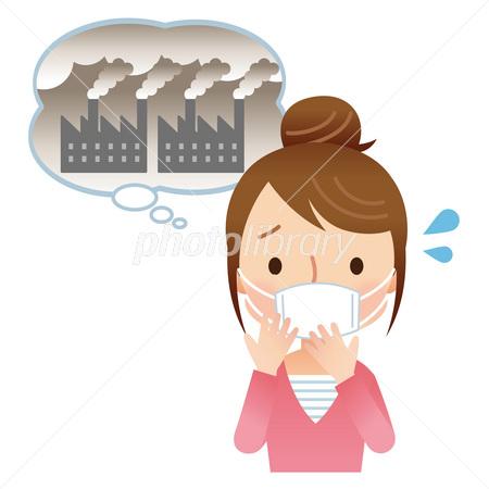 大気汚染 環境 Pm25 イラスト素材 2984849 フォトライブラリー