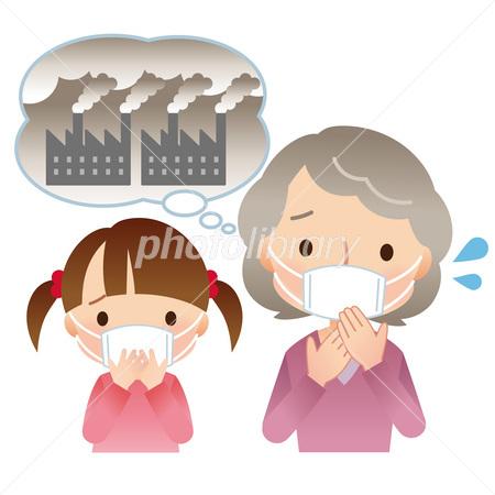 大気汚染 環境 Pm25 イラスト素材 2984858 フォトライブラリー