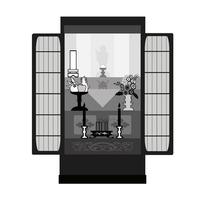Buddhist altar [2993371] Buddhist