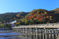 Arashiyama of autumn leaves and Togetsukyo Stock photo [2994097] Autumn