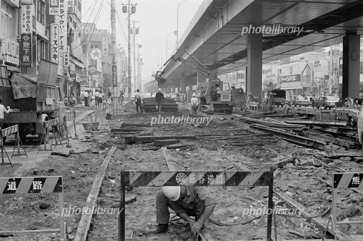 六本木交差点 1968年 写真素材 [ 3072916 ] - フォトライブラリー ...