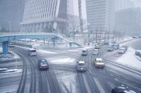 Heavy snow of Shinjuku Stock photo [3066763] Shinjuku