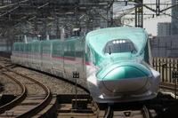 Tohoku Shinkansen Hayabusa E5 system Stock photo [3070985] Tohoku