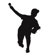 Pitcher Silhouette [3072571] Pitcher
