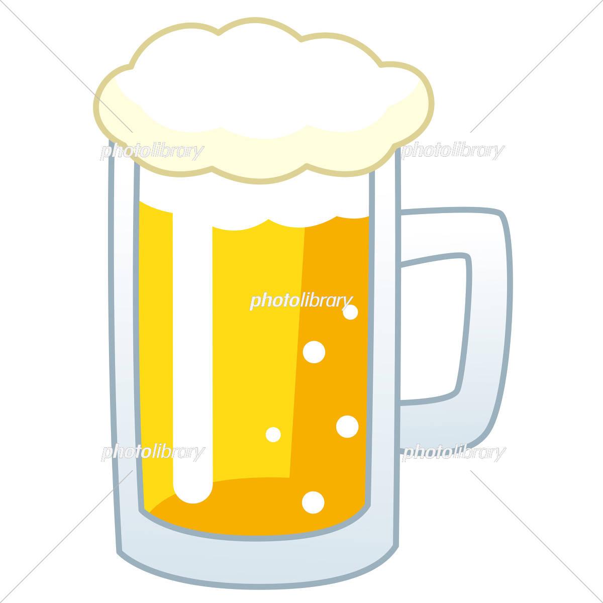 Beer beer mug イラスト素材