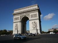 Paris Arc de Triomphe Stock photo [3164391] Arc