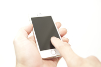 Hand to manipulate the smartphone Stock photo [3164827] Sumaho