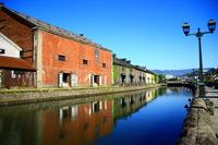 Otaru canal Stock photo [3165601] Hokkaido