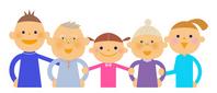 Three generation family [3269801] Grandfather