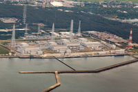 Aerial the Kashiwazaki-Kariwa nuclear power plant Stock photo [3271225] Kashiwazaki-Kariwa