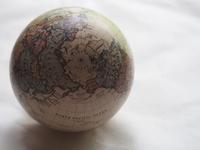 Globe of white back Stock photo [3272214] Globe
