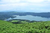 Lake Ashi from Hakone Komagatake summit Stock photo [3273063] ASHI-Lake