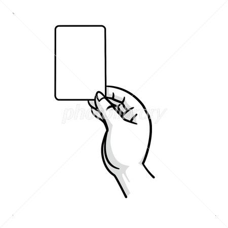カードを持つ手 イラスト素材 3373210 無料 フォトライブラリー