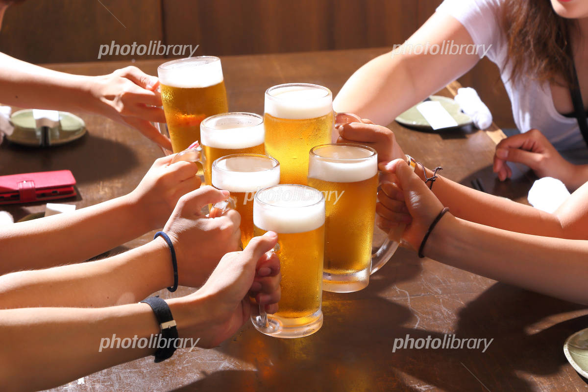 Cheers with beer Photo