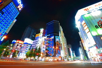Akihabara Electric Town of night Stock photo [3366908] Akihabara