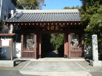 Temple gate of Tōzen-ji Stock photo [3370722] Tōzen-ji
