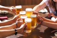 Cheers with beer Stock photo [3374675] Beer